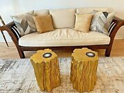 Stickney Rich Heavy Wood Framed Sofa/couch With Linen Upholstery
