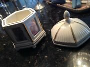 Photo Gallery Holder With Lid By Lenox