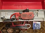 Ics Concrete Chainsaw 823 H With Bar And 2 Chains