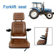 Lawn Mower Tractor Seat Universal Forklift Mower Seat Brown