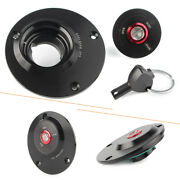 Motorcycle Gas Fuel Tank Cap Cover W/ Key For Yamaha Fz1 Fz6 Yzf R1 R6 All Years
