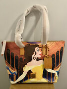 Disney Dooney And Bourke Belle Beauty And The Beast Dream Big Princess Tote Nwt