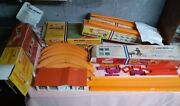 Vintage 1967-69 Hot Wheels Redline Tracks And Ass.with Original Boxes,no Cars