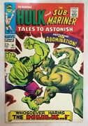 Tales To Astonish 91 Fnvf 2nd Abomination 1st Cover Marvel Hulk Shang-chi Mcu
