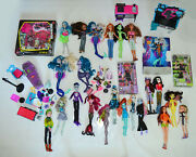 Monster High Dolls Furniture Bath Products Sealed And More Job Lot