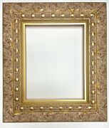 Gold Wood Picture Frame 3 Wide