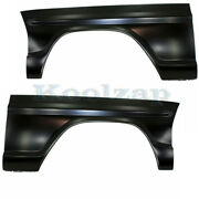 15-17 Mustang Convertible/coupe 2.3l And 3.7l Front Fender Panel Aluminum Pair Set