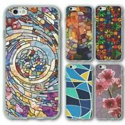 For Iphone 6 6s Silicone Case Cover Stained Glass Group 2