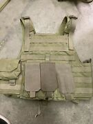 Eagle Industries Small Med Coyote Tan Plate Carrier Modular Armor Tactical Vest