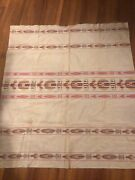Vintage Handmade Rare Native American Tablecloth Indian South America 44andrdquo X 50andrdquo