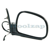 Tyc 94-97 Chevy S10/sonoma Pickup Truck Rear View Mirror Power Black Right Side