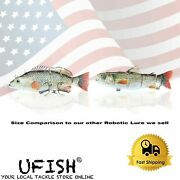 Ufish Rechargeable Fishing Lures Self Swimming Fishing Best Bass Pike Lures