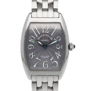 Franck Muller Watches 1752qz Silver Stainless Steel Tonocar Vex From Japan Used