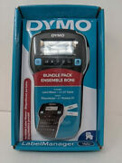 Dymo Label Maker With 2 D1 Dymo Label Tapes Label Manager 160 Portable Maker