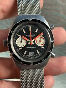 Sale Vintage Breitling Chrono-matic Chronograph Mens Watch 2112 Cal.11 38mm