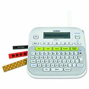 Brother P-touch Ptd210 Label Maker Multiple Font Styleswhite