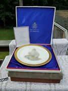 Young America 1776 Boehm Limited Issue 1973 Bone Porcelain Plate - Ships Free