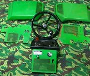 John Deere 318 Tractor Panels Lot Steering Wheel Side Panels Switches Cables