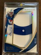 2018 Immaculate Collection Daurice Fountain Jumbo Helmet Patch 02/12 Rc