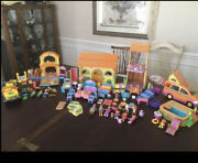 Huge Lot Of Dora And Diego Sets Talking House Pool 25+ Figures Accessories Etc