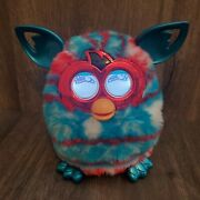 Hasbro Talking Furby Boom 2012 Red White Blue Interactive Metallic Toy No Cover