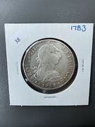 1783 Shipwreck Spanish Mexico Silver 8 Reales 1700's Colonial Dollar Pirate Coin