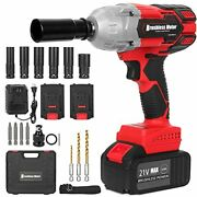 Cordless Impact Wrench 1/2 Chuck Impact Driver/drill/screws With 3200rpm Speed