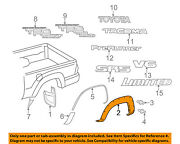Toyota Oem 05-15 Tacoma Bed-wheel Well Fender Flare Molding Right 7587304050