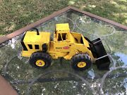 Mighty Tonka Truck Front End Loader Vintage Metal Toy Diecast