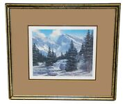 Sharon Achtyes Signed Numbered Summer Arapahoe Peak Rocky Mountains Co. Print