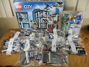 New Lego City Police Station 60141 Set Complete New In Box Retired