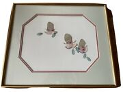 Alice In Wonderland Young Oysters Production Cel Walt Disney 1951