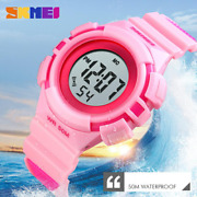 Skmei Kids Watch Waterproof Sports Digital Watches For Boys Girls With Led Light