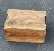 1950andrsquos M63 Telescope Mount 57 Mm At Gun Wood Box Crate Shipping Vtg Case