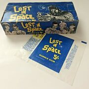 Topps Giant Cyclops Lost In Space Wax Pack Box And Gum Wrapper-60's Vintage-rare