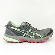 Asics Womens Gel Sonoma T4f7n Gray Running Shoes Lace Up Low Top Size 8