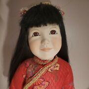Dolls By Jerri Mccloud Asian Chinese Porcelain Doll 22