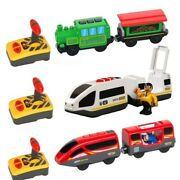 Rc Electric Train Truck Diecast Slot Car Toy Fit For Wooden Railway Train Track