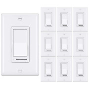 10 Pack Best Ten Dimmer Light Switch Single Pole Or 3way 120v Compatible New