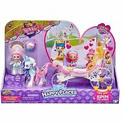 Shopkins Happy Places Royal Wedding Carriage, 1-pack Small Doll Playset