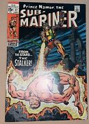 Namor The Sub-mariner 17 Marvel 1969 Certificate 2nd Mile High Comic Coll