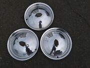 1949 1950 Lincoln Continental Mark Vintage Hubcaps