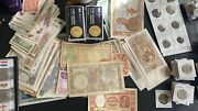 Mixed Lot Of 10 Different Foreign Paper Money Banknotes World Currency Candu