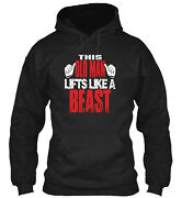 This Old Man Lifts Like A B Classic Pullover Hoodie - Poly/cotton Blend