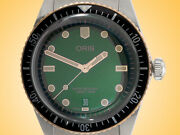 Oris Diverssixty-five 40 Mm Green Dial Automatic Stainless Steel Men's Watch