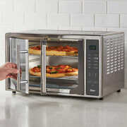 Digital Countertop Ovenfrench Door With Air Fry Extra-large Capacity