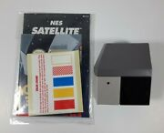 1989 Nintendo Nes Satellite Wireless Controller Receiver Eye Manual And Poster