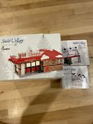 New Dept. 56 Chick-fil-a Lot Of 3 Building Billboard Eat Mor Chikin Cows Rare