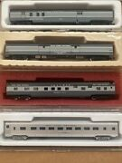 N Scale Con Cor New York Central Nyc Passenger Cars All Different Lot Set Pack