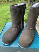 Emu Boots Paterson Lo Chocolate Size 7  W10771. Made In Austria